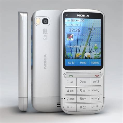 Hp Nokia C3 01 Touch And Type nokia c3 01 touch type max