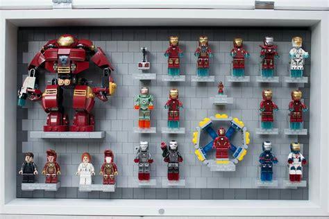 lego iron man suits display stephon room design lego