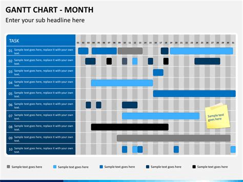 Gantt Chart Powerpoint Template Sketchbubble Gantt Chart For Powerpoint Presentation