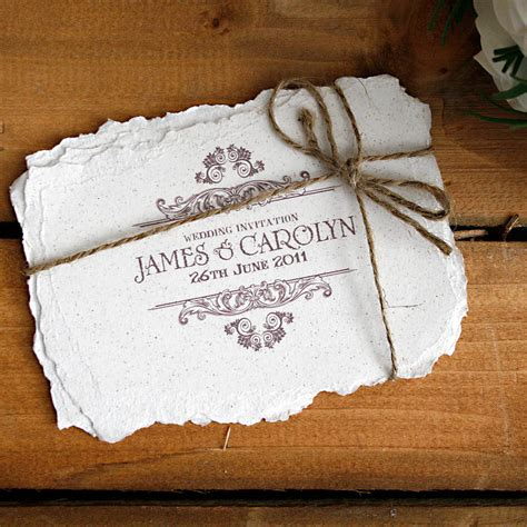 vintage style wedding cards vintage style wedding invitation by solographic notonthehighstreet