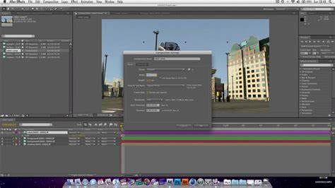 tutorial after effect basic after effects tutorial basic compositing youtube
