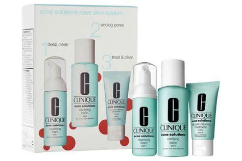 Produk Clinique Untuk Jerawat rekomendasi acne kit dari brand skin care amerika yang