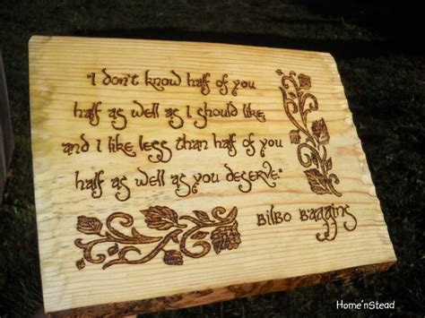 gifts for lord of the rings fans bilbo baggins quote hobbit wall hanging fan gift lord of