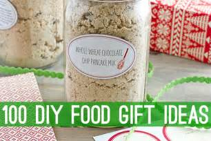food gifts 100 diy food gift ideas