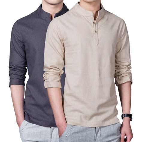 Linen Shirt summer casual linen shirt