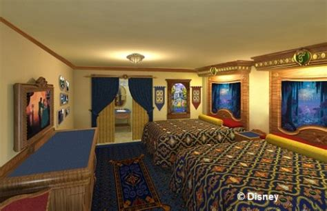 new storybook rooms and health and wellness suites