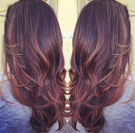 mahogany red hair with high lights best 25 mahogany hair colors ideas on pinterest mahogany