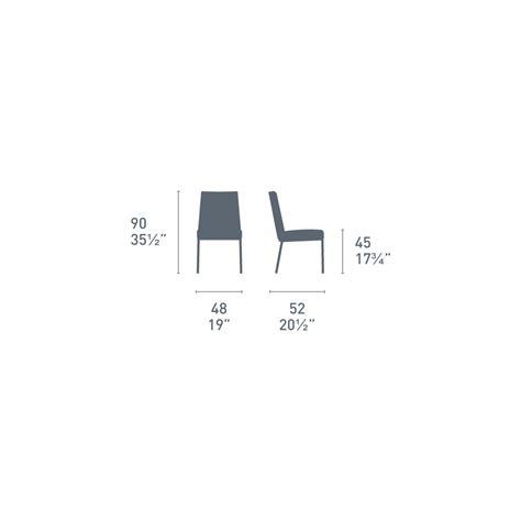 sedie in cuoio calligaris connubia calligaris boheme sedia in cuoio e metallo