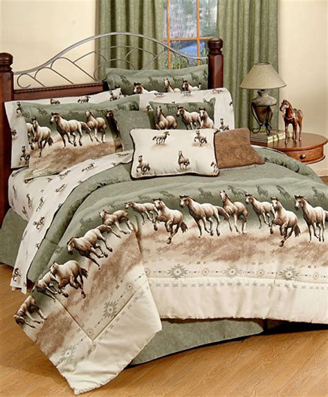 horse bedding kids girls horse and pony theme bedding