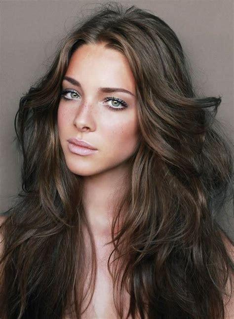 hairstyles in brown hair wavy brown hair long hairstyles how to
