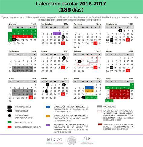 Calendario Con Las Semanas Aã O 2016 Vacaciones 2017 M 195 169 Xico Planea Tus Vacaciones Ahora