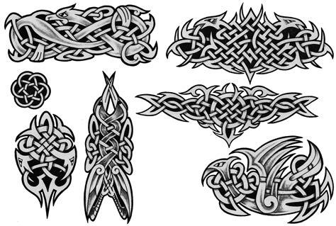 мужские тату эскизы кельтские узоры студия Celtic Designs