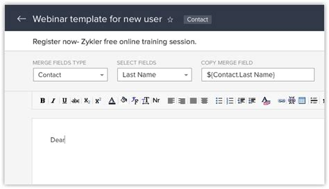 email templates for zoho email templates online help zoho crm