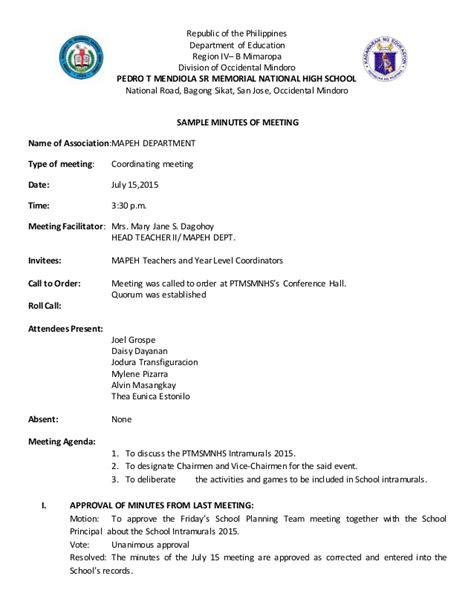 Occidental College Letters Of Recommendation sle of minutes of meeting images cv letter and format sle letter