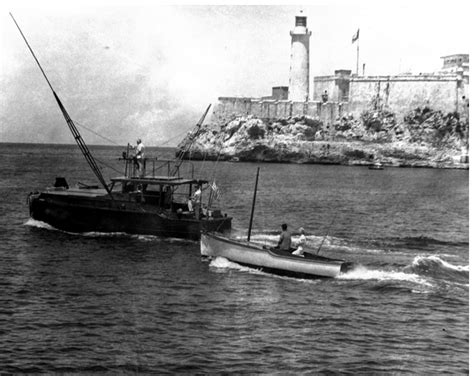 hemingway s fishing boat throwback thursday ernest hemingway s boat boats