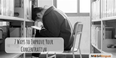7 Ways To Improve Your Concentration by 7 Ways To Improve Your Concentration