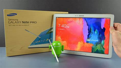 Samsung Galaxy Note Pro122 samsung galaxy note pro 12 2 unboxing overview