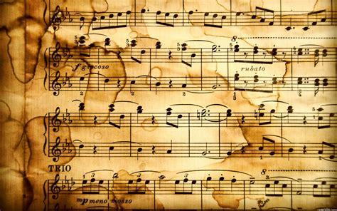 wallpaper paper notes musical notation desktop wallpaper