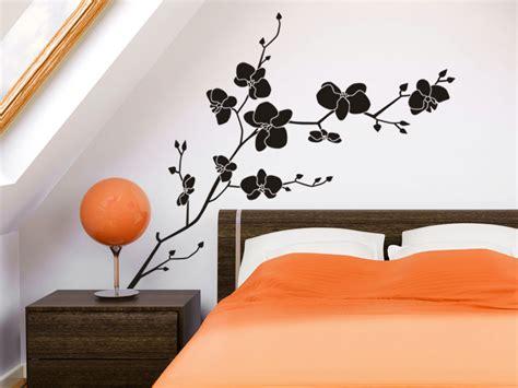 Orchidee Im Schlafzimmer by Orchideen Wandtattoo Bl 252 Te Wandtattoo