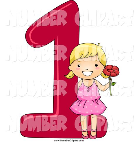 number 1 clipart for