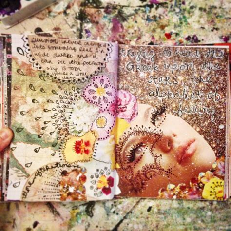 sketchbook whimsy collage size books create more light journal pages as of lately