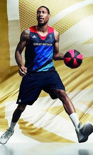 chris sullivan basketball london 2012 team gb models olympics kit designed by