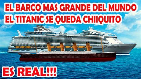el pinoplas el barco 8434808285 el barco crucero mas grande del mundo el titanic parece doovi