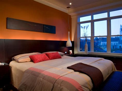 bedrooms with orange walls orange design ideas color palette and schemes for rooms