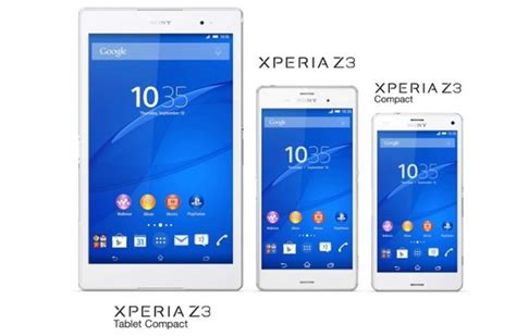 Hp Sony Xperia Z3 Series sony discloses additional features of the xperia z3 series doi toshin