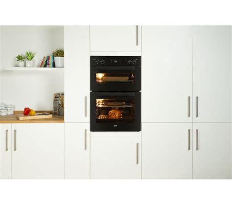half oven kitchen appliances buy beko bdf22300b electric oven black free