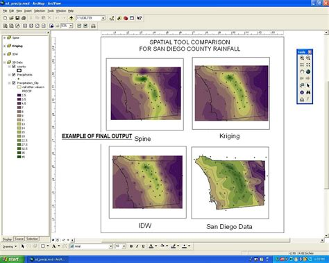 tutorial idw arcgis gis outline grossmont college