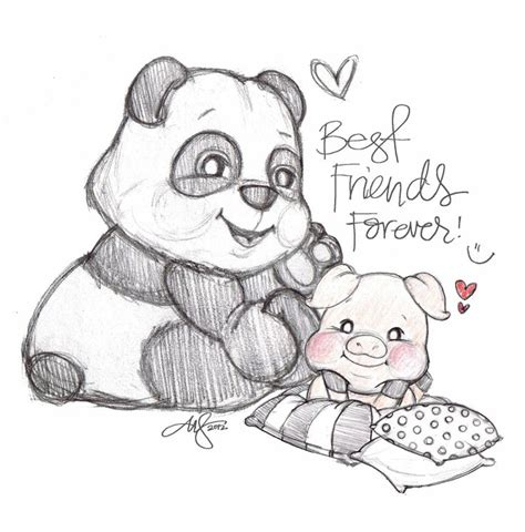 pencil finds his forever friends a rhyming pencil grip picture book early childhood series volume 1 books bff panda i pandas bff panda and