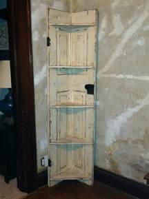 Ideas For Old Bookcases Turn An Old Door Into A Corner Shelf Diy Projects For