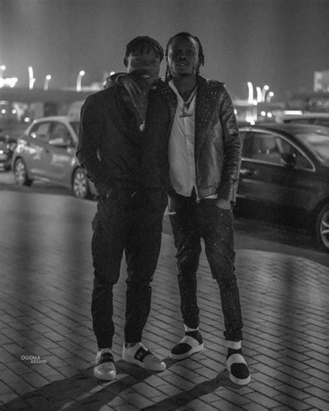 Naira Marley gifts his younger brother a house