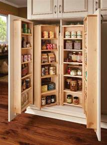 Kitchen Pantry Furniture by Corner Kitchen Pantry Cabinet To Maximize Corner Spots At