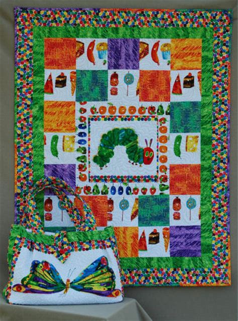 Hungry Caterpillar Quilt Pattern by Hedgehog Quilts Gallery