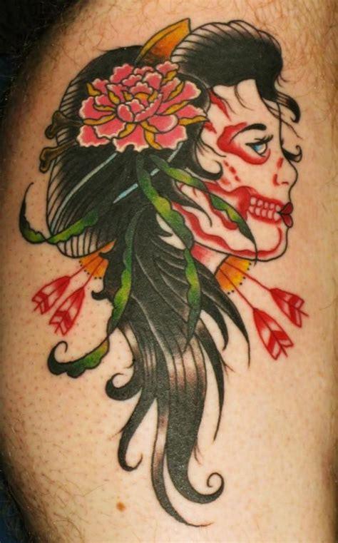 tattoo geisha skull skull tattoo skull geisha 171 skull 171 tatto on body 171 tattoo