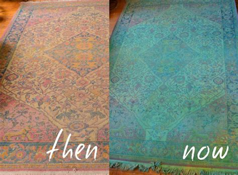 how to overdye a rug thinking outside the box how to decorate with overdyed rugs