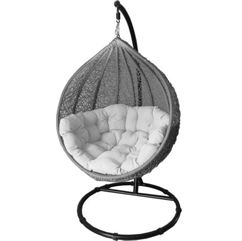 cocoon swing chair cocoon swing chair grey woo design