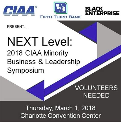 fifth third bank corp black enterprise president ceo to keynote 2018 ciaa