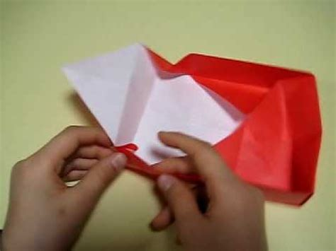 Origami For 7 Year Olds - lunch box en origami