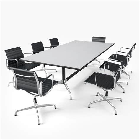 Vitra Meeting Table Vitra Conference Table 3d Obj