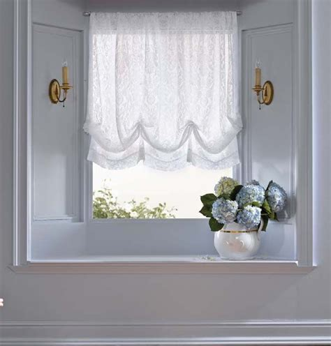 simply shabby chic lace balloon shade 21 24 at target sewing window treatments pinterest