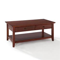 table with storage crosley coffee table with storage drawers by oj commerce