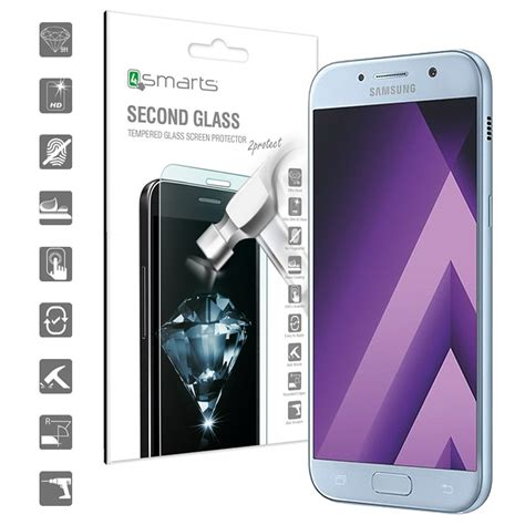 Anti For Samsung Galaxy A5 2017 Tempered Glass Anti samsung galaxy a5 2017 4smarts second glass screen protector