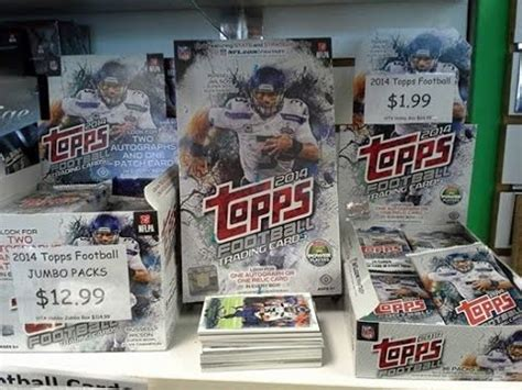 Nfl Com Gift Card - 2014 topps nfl trading cards youtube