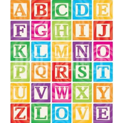 alphabet block letters printable google search