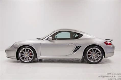 porsche s msrp find used 2007 porsche cayman s msrp 71 490 leather