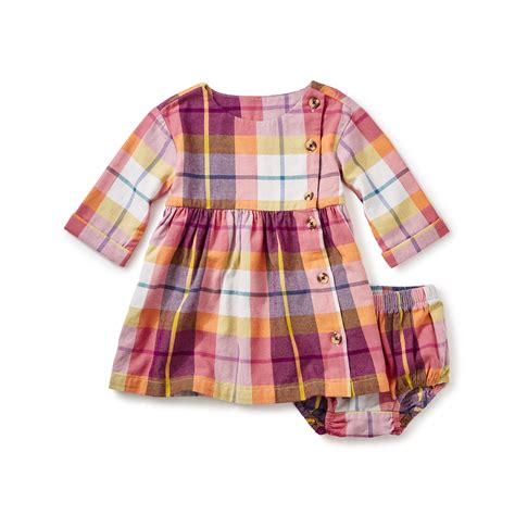 Faodail Set by Faodail Flannel Baby Dress Tea Collection