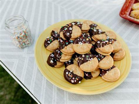 miso caramel cracker cookies recipe molly yeh food network